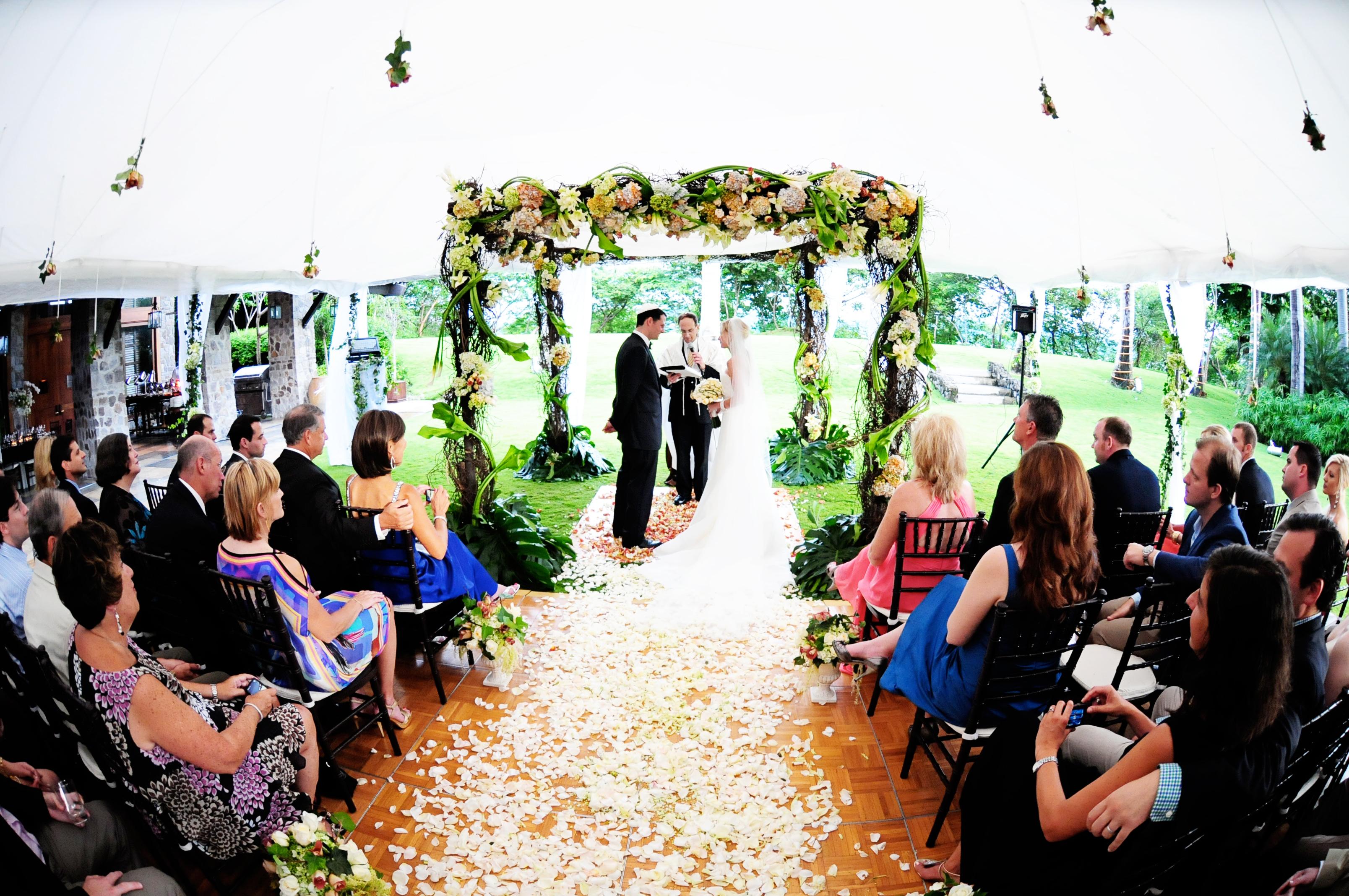 Weddings Costa Rica: Kisha And Jason, Four Seasons