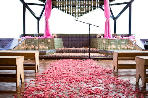 Pink Ceremony Site