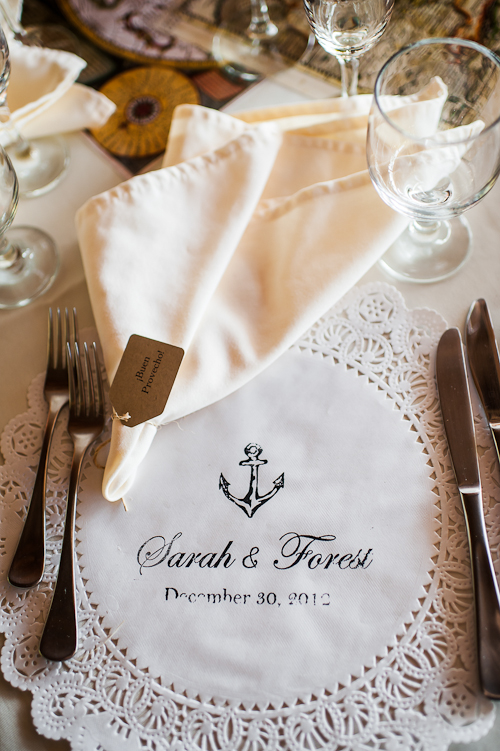Lace Place Setting