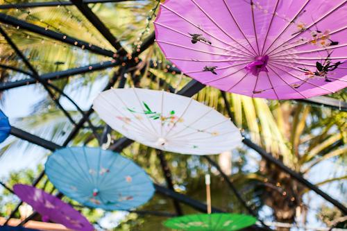 Hanging Parasols