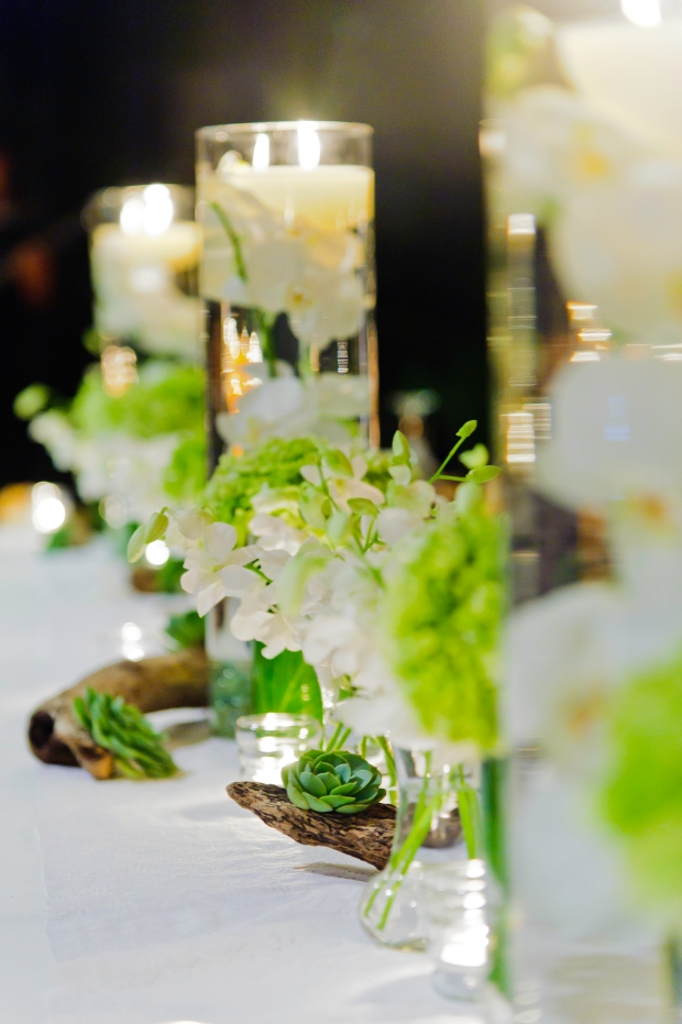 Detail of table decor