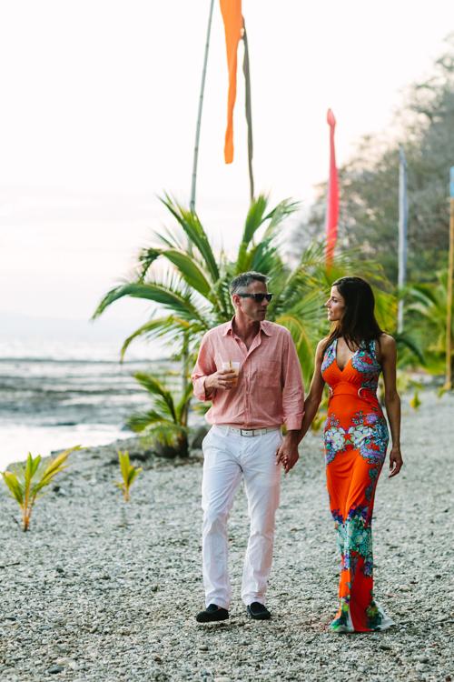 Villa Caletas beach