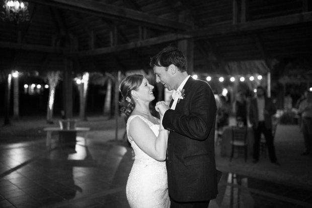 bride and groom dancing, tropical wedding, Hacienda Pinilla Beach Resort, las palapas, weddings costa rica