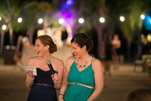 bridesmaids, wedding reception, wedding party, tropical wedding, destination wedding, Hacienda Pinilla Beach Resort, las palapas, weddings costa rica