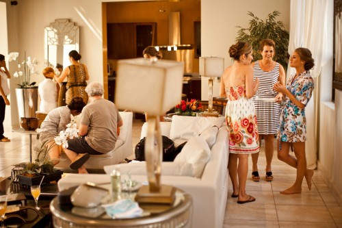 before the wedding, bridal suite, bride getting ready, Reserva Conchal Beach Club, Weddings Costa Rica
