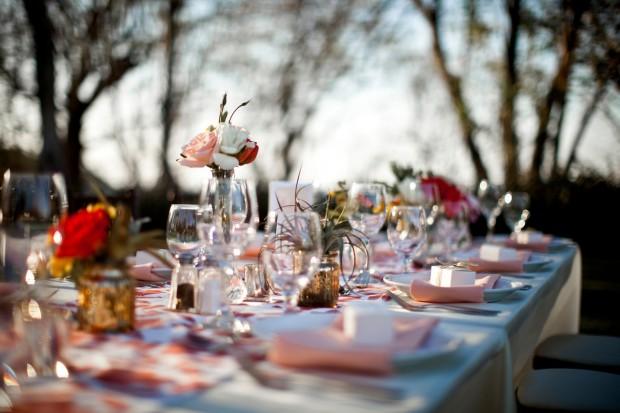 rose table decor, wedding reception, rose table arrangement, beach wedding, Reserva Conchal Beach Club, Weddings Costa Rica