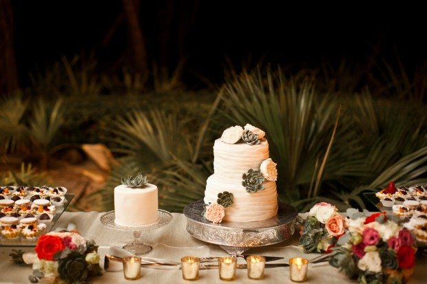 beach wedding cake, rose wedding cake, tropical wedding cake, Reserva Conchal Beach Club, Weddings Costa Rica