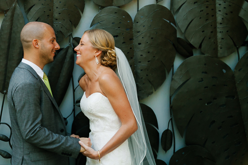 bride and groom, bride and groom laughing, married couple, punto de vista costa rica wedding, weddings costa rica