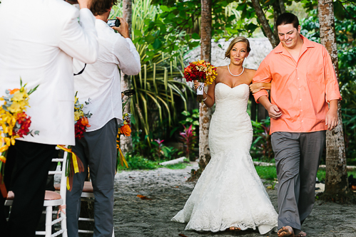 beach wedding, wedding aisle, tropical wedding, punto de vista costa rica wedding, weddings costa rica