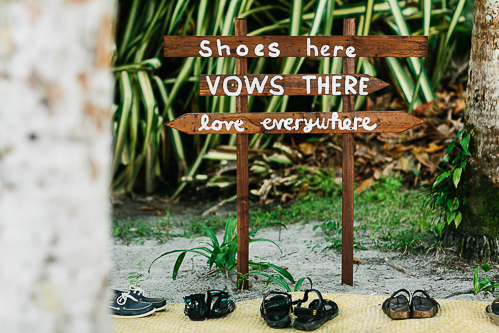 wedding accessories, beach wedding, wedding shoes, punto de vista costa rica wedding, weddings costa rica
