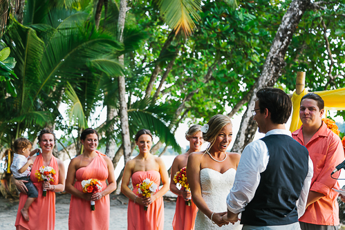 beach wedding, wedding vows, tropical wedding, punto de vista costa rica wedding, weddings costa rica