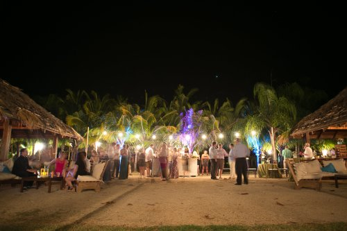 tropical wedding, wedding reception, destination wedding, wedding celebration, Hacienda Pinilla Beach Resort, las palapas, weddings costa rica