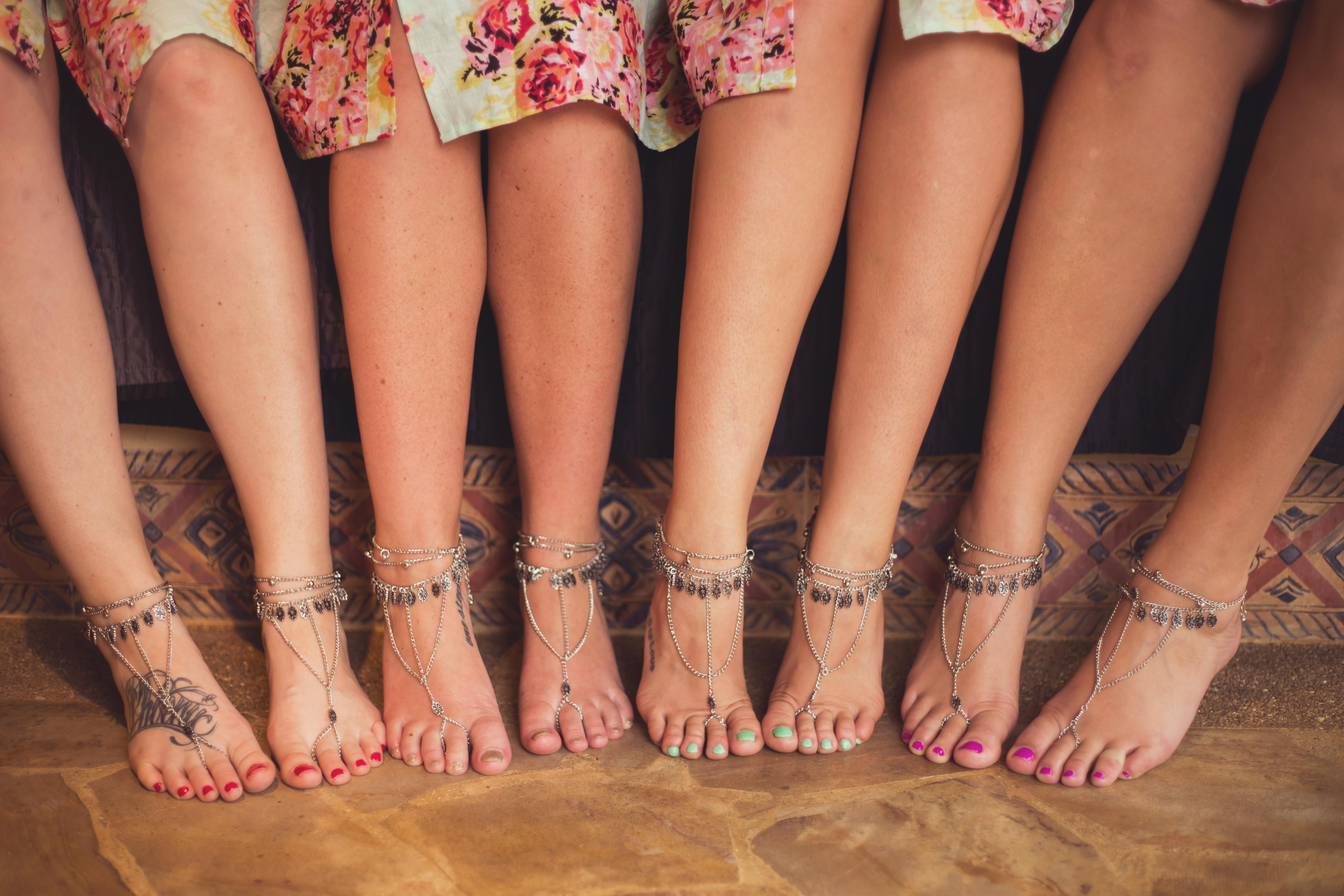 foot jewelry beach wedding foot jewelry bridesmaids foot jewelry beach wedding tulemar