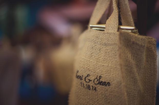 wedding favors, customized wedding favors, hemp bag, personalized hemp bag, tulemar, weddings costa rica