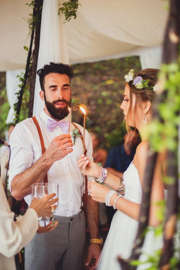 wedding vows, wedding ceremony, wedding lighting candles, vintage wedding, beach wedding, weddings costa rica. tulemar