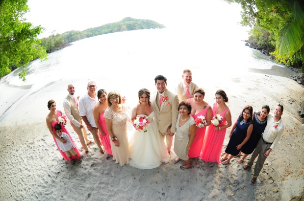 Beach wedding, costa rica wedding