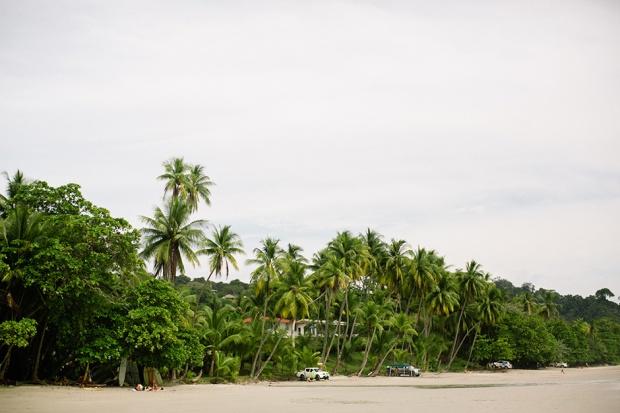 costa rica beach, tropical beach, beach wedding