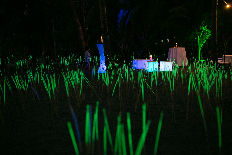 Glow Furniture alternative wedding – weddings costa rica