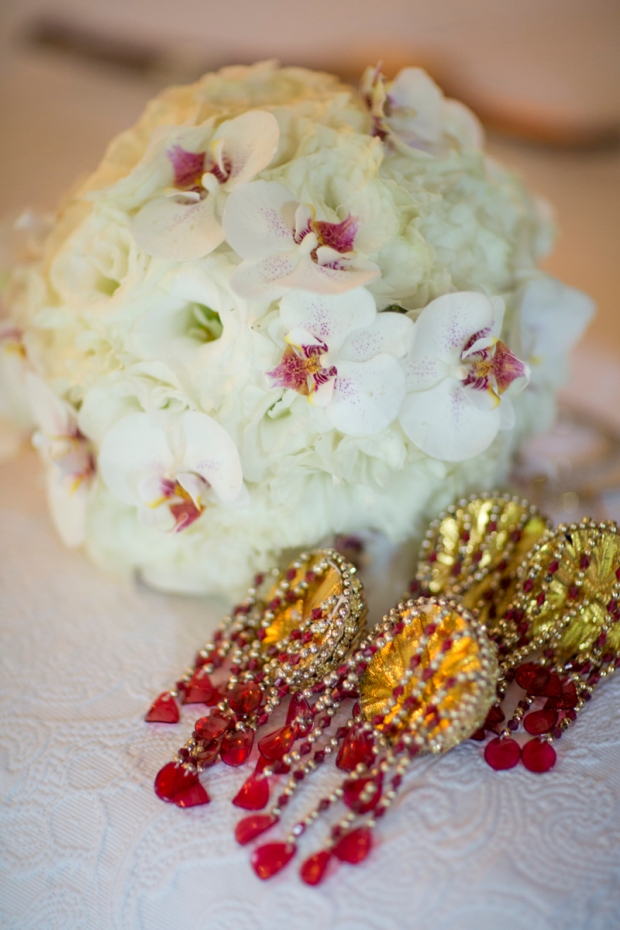 Kalire, bridal bouquet and kalire, white orchid bouquet, weddings costa rica