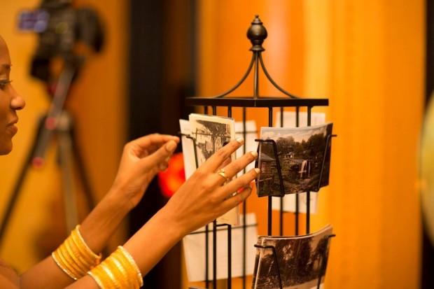 postcard holder, wedding postcards, weddings costa rica