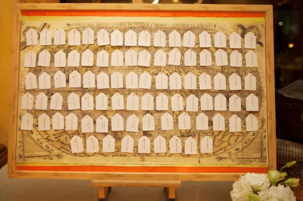 Seating Cards, seating cards on world map, international wedding, weddings costa rica