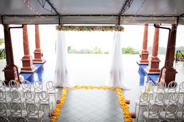 Zepher Palace, tropical wedding, ocean view wedding, wedding by the pool, weddings costa rica