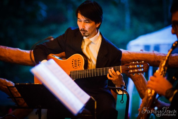 classical guitar, asian guitar player, classic guitar player, chamber trio, weddings costa rica