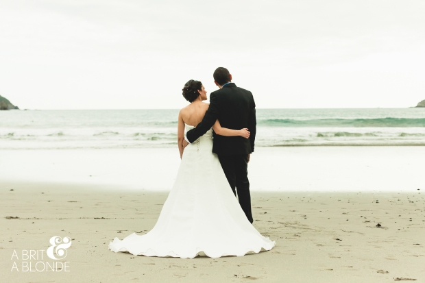 bride and groom on the beach, beach wedding, manuel antonio wedding, costa rica wedding, destination wedding, weddings costa rica