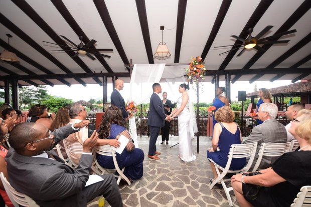 wedding ceremony, tropical wedding,