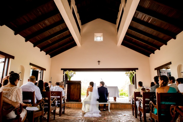 Church wedding Costa Rica