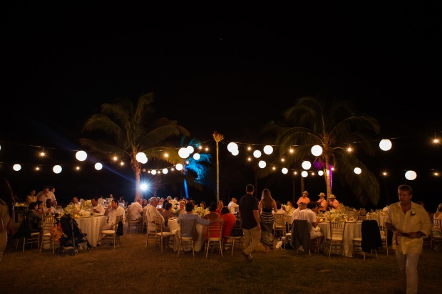 wedding reception Las Palapas Hacienda Pinilla