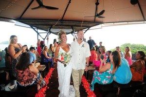 wedding ceremony Punto de Vista, Manuel Antonio villa wedding, Weddings Costa Rica