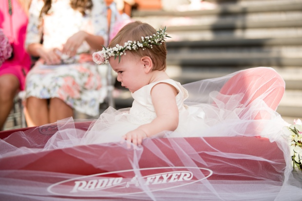 baby in wagon, baby at wedding, wagon at wedding, Villa Caletas wedding, zephyr Palace wedding, Weddings Costa rica, Costa Rica wedding