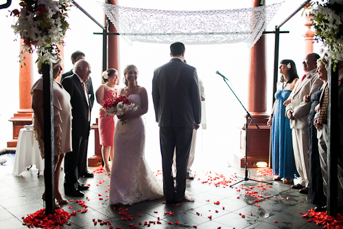 Jewish wedding Villa Caletas